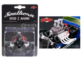 Motor Dragster Com Transmissão - 1/18 Gmp