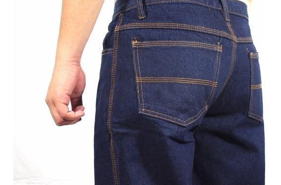 Pantalón 3 Costuras Seguridad Industrial Obrero Jeans
