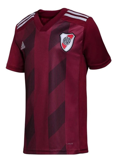 Camiseta River Plate 2019 Suplente Bordo Torino Axion Oficia