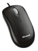 Mouse Optical Com Fio Usb Basic Preto Microsoft - P5800061