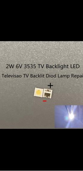 Leds Para Tv 6v 2w Branco Fresco Frete Grátis 200peça