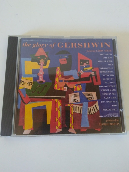 Gershwin- The Glory Of Cd Excelente