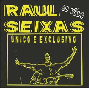 Raul Seixas Único E Exclusivo Ao Vivo - Cd Rock
