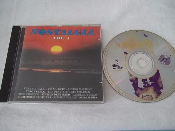 Cd - Nostalgia Vol 1 - Coletanea Rock Pop Internacional