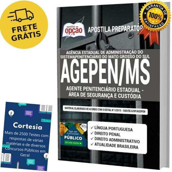 Apostila Agepen Ms - Agente Penitenciário Mato Grosso Do Sul