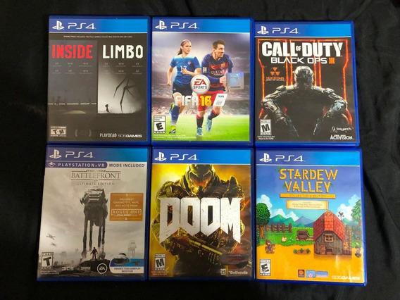 Vendo O Cambio Juegos Originales De Ps4 Playstation 4