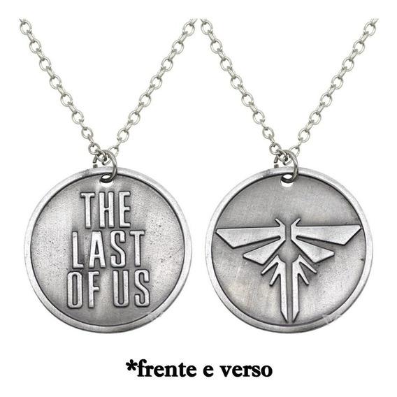 The Last Of Us Colar Pingente Cordão Vagalume Ps4