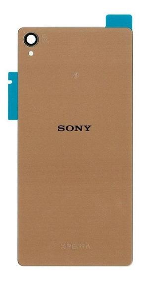 Tampa Traseira Sony Xperia Z3 D6633 D6643 Dourado