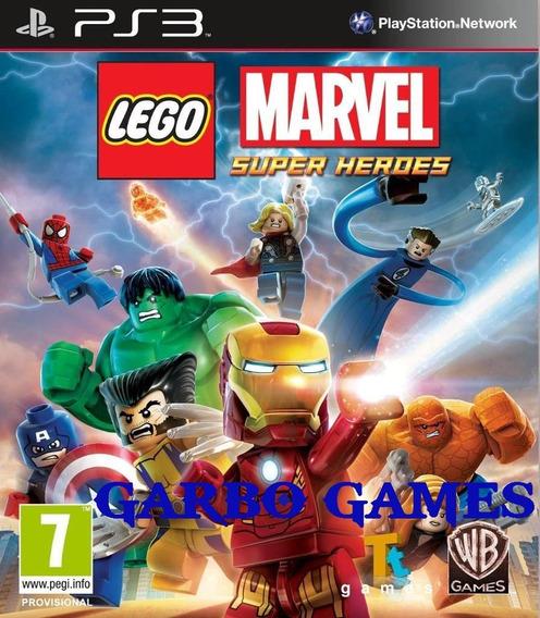 Jogo De Ps3 Lego Marvel Super Heroes Em Mídia Digital