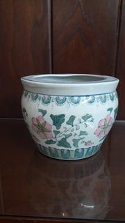 Maceta De Porcelana Japonena
