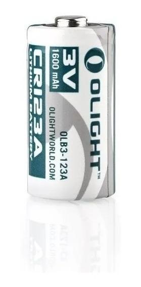 Bateria Olight Cr123a - 1600 Mah 3v