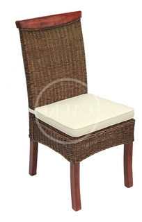 Silla De Rattan Natural & Teka, Ayra - Indonesia