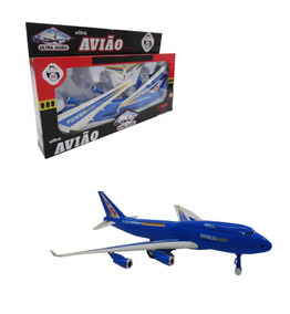 Ultra Avião Super-power Brinquedo Aviaozinho Airplane Oferta