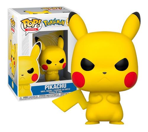 Boneco Funko Pop Games Pokémon Pikachu 598 - Original
