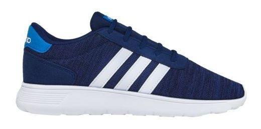 Tenis adidas Caballero Azul Lite Racer K 5529 Core Footwear
