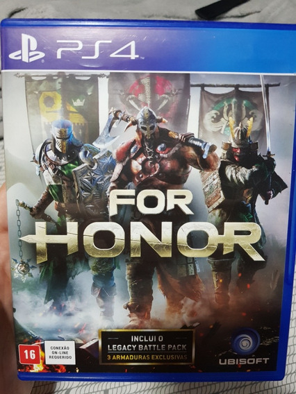 Jogo For Honor Mídia Física - Ps4