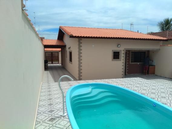 Casa Nova Em Itanhaém 2 Dormitórios Com Piscina