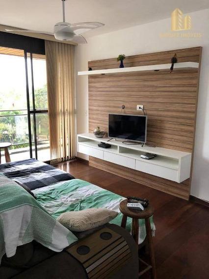 Apartamento Com 4 Dormitórios À Venda, 109 M² Por R$ 585.000 - Jardim Aquarius - São José Dos Campos/sp - Ap1262