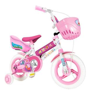 Bicicleta Rodado 12 Peppa Pig Unibike Original