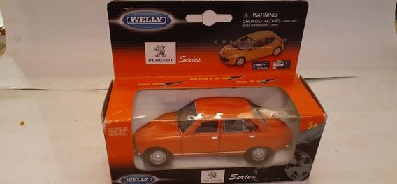 Peugeot 504 Año 75 - Welly- A Escala 1/38 - Nuevo.