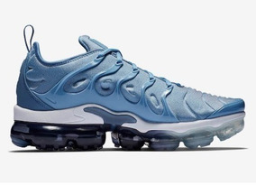 9fe06467117 Nike Vapor Max Air Azul Preto - Tênis Running Azul aço no Mercado ...