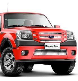 Sobre Grade Ford Ranger 2010 2011 2012 Sup + Inf Fusion 4x2