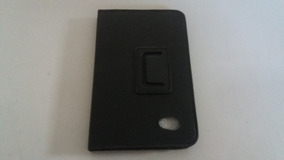 Capa Case Couro Preto Tablet P6200 12x18,8 Lelong