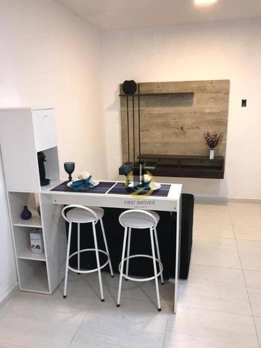 Apartamento Com 1 Dormitório Para Alugar, 35 M² Por R$ 1.800,00/mês - Vila Dom Pedro I - São Paulo/sp - Ap1641
