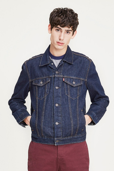 Campera Levi´s® Hombre The Trucker Jacket Rinsed