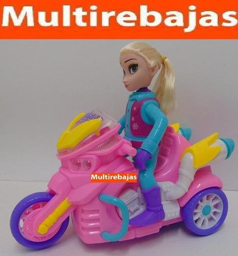 Barbie En Moto Musical