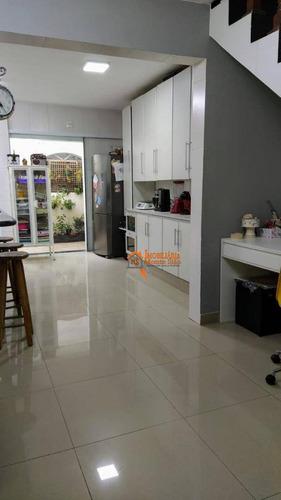 Sobrado Com 3 Dormitórios À Venda, 247 M² Por R$ 700.000,00 - Jardim Tabatinga - Guarulhos/sp - So0776