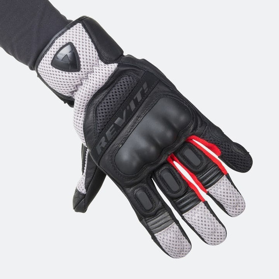 Guantes Revit Gloves Dirt 3 Negros/rojo Mh&s
