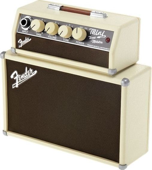 Mini Amplificador Fender Mini Tone Master Novo Oferta!