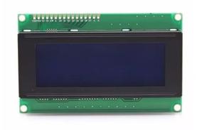 Display Lcd 20x4 Backlight Azul E Escrita Branca Arduino