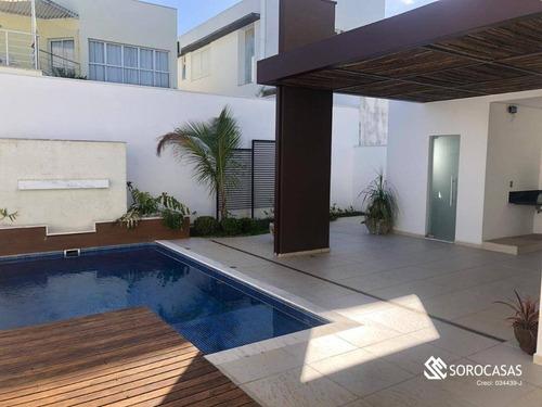 Imagem 1 de 30 de Casa Com 3 Dormitórios À Venda, 300 M² Por R$ 1.850.000,00 - Condomínio Mont Blanc - Sorocaba/sp - Ca1826