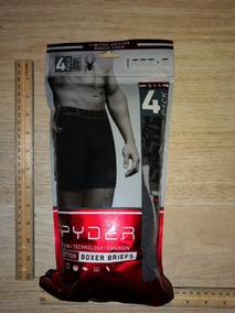 Spyder Juego De 4 Boxer Briefs Pro Cotton Large 36-38 Cms