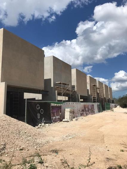 Nuevos Townhouses En Venta En Temozon Town7