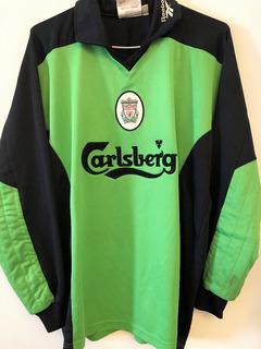 Camisa Liverpool 1997/99 Dudek #1 Reebok Raríssima