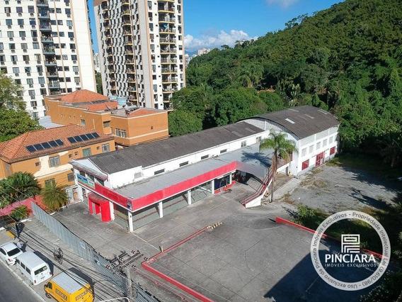Loja Aluga E Vende, 1290 M² E 2725 M² De Terreno Por Por R$ 60.000,00/mês- Santa Rosa - Niterói/rj - Lo0053