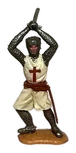 Timpo Toys Caballero Cruzado. Hecho En Inglaterra. Años '70s