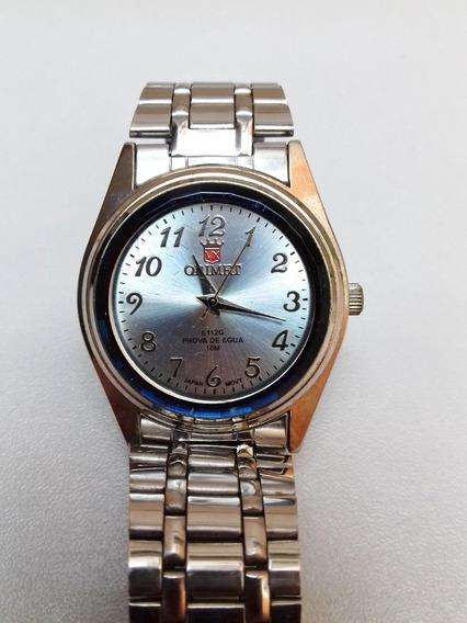 Relógio Orimet Unissex Usado Com Pilha Nova