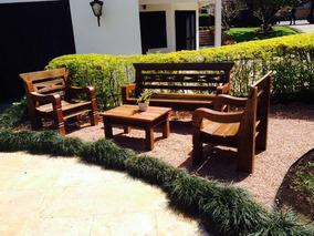 Banco Rustico Para Jardim