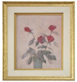 Pintura Rubens Esmanhotto Botão De Rosa