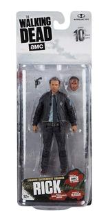 Figura The Walking Dead Rick Amc Serie 10 Rick