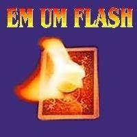 In A Flash - Em Um Flash - Cor Vermelho Ou Azul