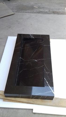 Imagen 1 de 10 de Lavabo Rampa Negro Queretaro