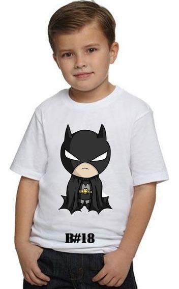 Franelas De Batman Sublimadas/estampadas