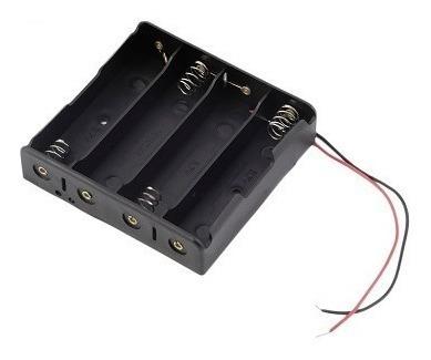 Case Suporte Para Bateria 18650 Para 4 Baterias - Cod.50