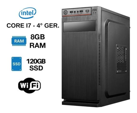 Cpu Nova Core I7 120gb Pc Ultimas Unidades