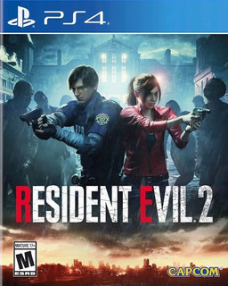 Ps4 - Resident Evil 2 Remake - Disco Fisico - Extreme Gamer